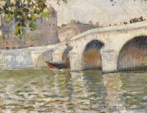 On The Seine In Paris