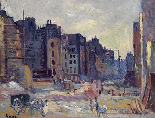 The Digging Of The Rue Reaumur