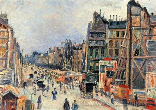 The Opening Of The Rue Reaumur