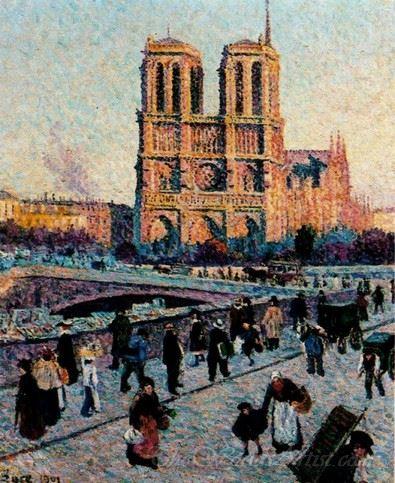 The Quai Saint Michel And Notre Dame
