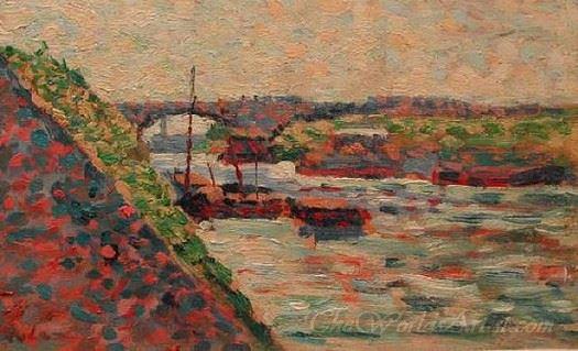 The Seine At Charenton
