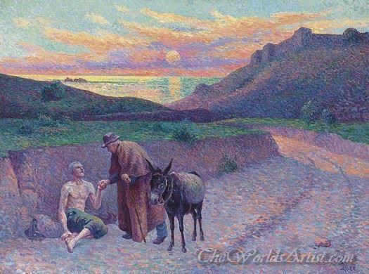 Le Bon Samaritain  (The Good Samaritan)