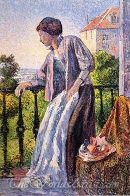 Madame Luce On The Balcony
