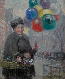 The Balloon Seller New York