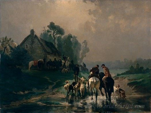 Le Rendez Vous De Chasse  (The Rendez Vous Of Hunting)