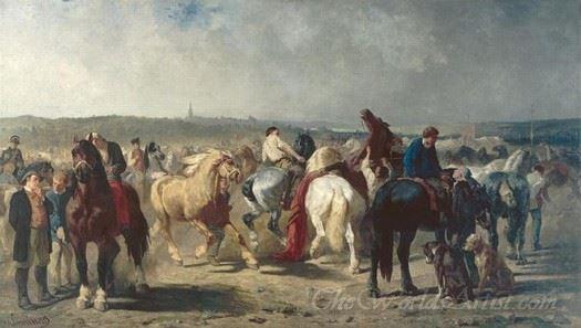 Marche Aux Chevaux  (Horse Market)