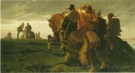 Gaulois En Vue De Rome  (Gauls In View Of Rome)