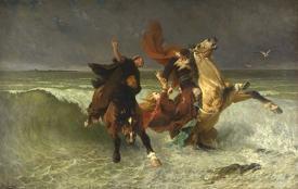 The Flight Of King Gradlon
