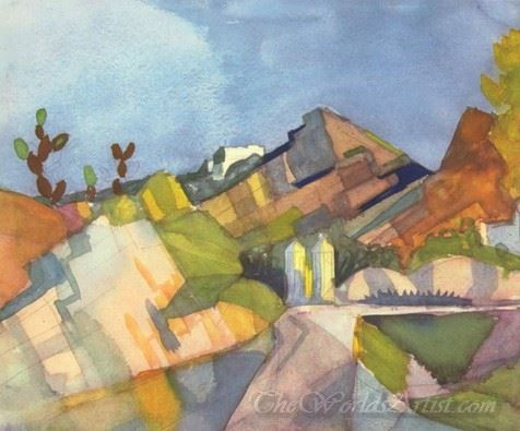 Felsige Landschaft  (Rocky Landscape)