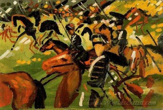 Hussars At Gallop