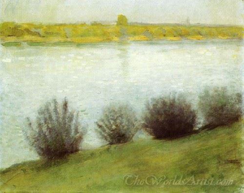 The Rhine Near Herzel