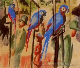 Con Los Papagayos  (With The Parrots)