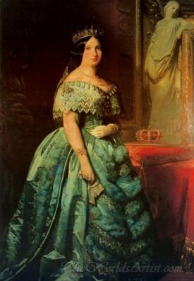 Isabel 2 Queen Of Spain