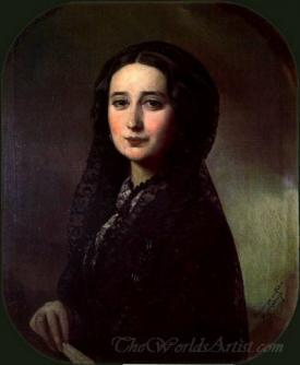 Retrato De Carolina Coronado