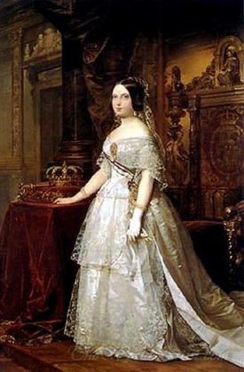 Retrato De Isabel Ii De Espana