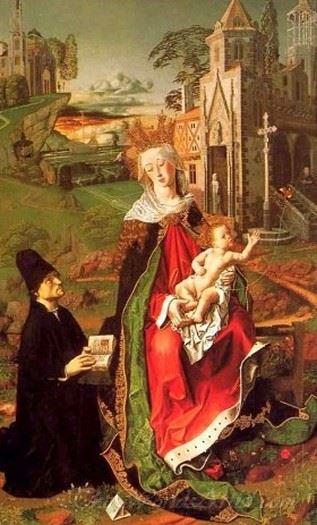 Retable Of The Virgin Of Montserrat
