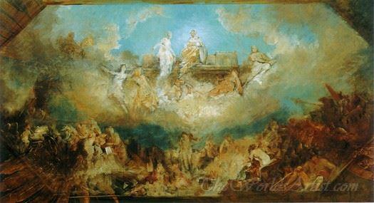 Die Versenkung Des Nibelungenhortes In Den Rhein  (The Sinking Of The Nibelung Treasure Into The Rhine)
