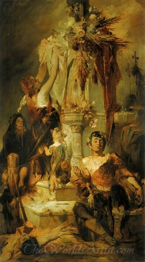 Opferszene  (Offering Scene)