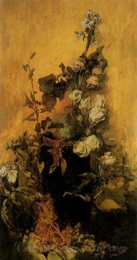 Stilleben Mit Rosen  (Still Life With Roses)