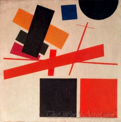 Suprematism Abstract Composition