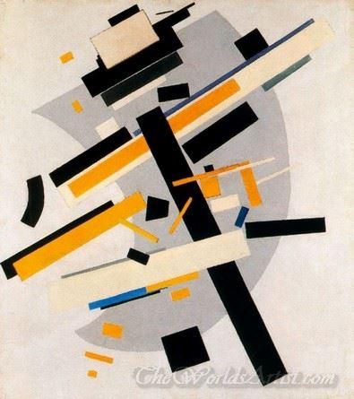 Suprematism Supremus Yellow And Black