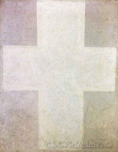 Suprematist Painting Cross