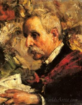 A Portrait Of The Artists Father