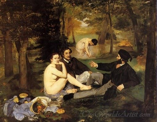 Luncheon On The Grass  (Le Dejeuner Sur L Herbe)