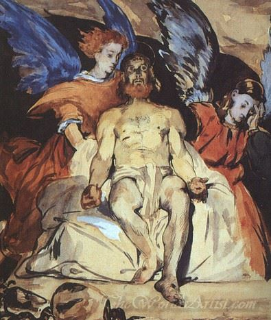 Christ With Angels