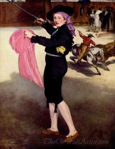 Mlle Victorine In The Costume Of A Matador