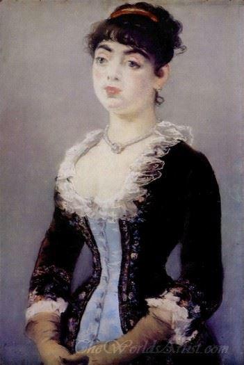 Portrait De Mme Levy 1882