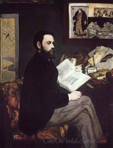 Portrait D Emile Zola