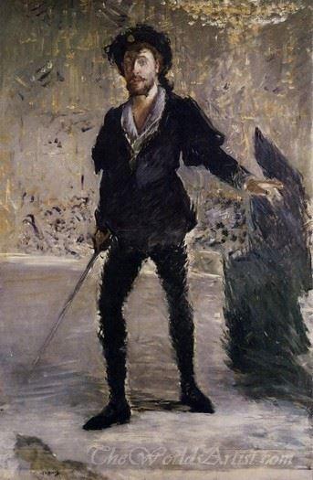 Portrait Of Faure As Hamlet