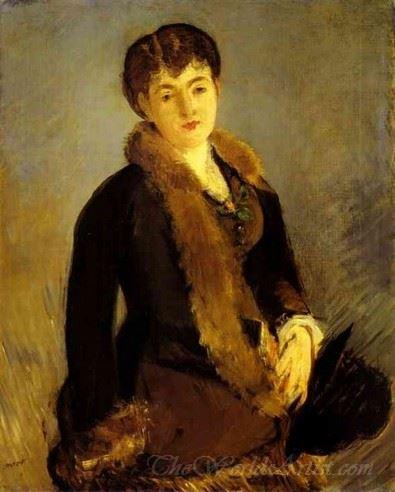 Portrait Of Mlle Isabelle Lemonnier