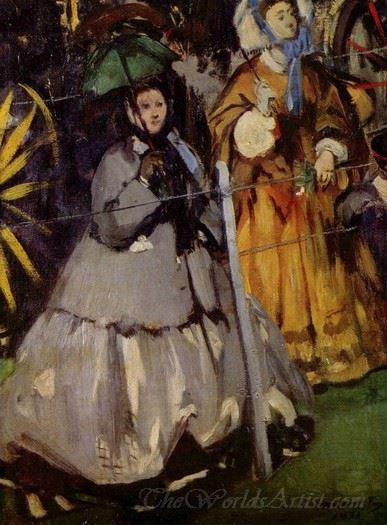 Women At The Longchamp Races