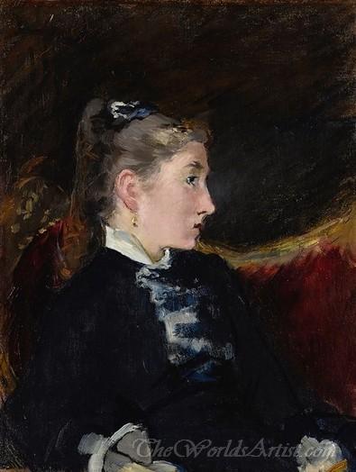 Profil De Jeune Fille  (Profile Of Young Girl)