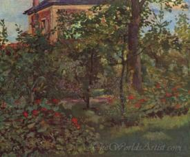 A Corner In The Garden Of Bellevue