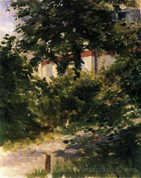 A Path In The Garden At Rueil