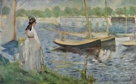 Bank Of The Seine At Argenteuil