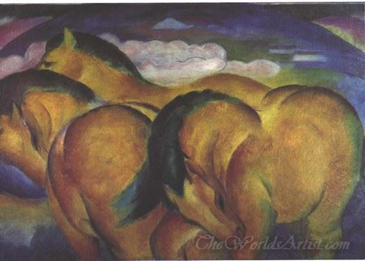Little Yellow Horses