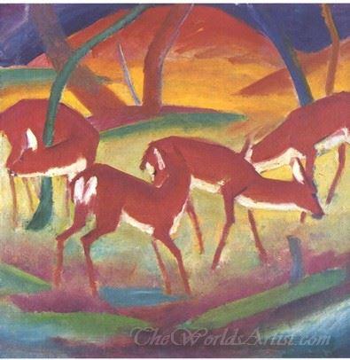 Rote Rehe1  (Red Deer)