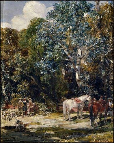 Paisaje En La Romeria  (In The Pilgrimage)