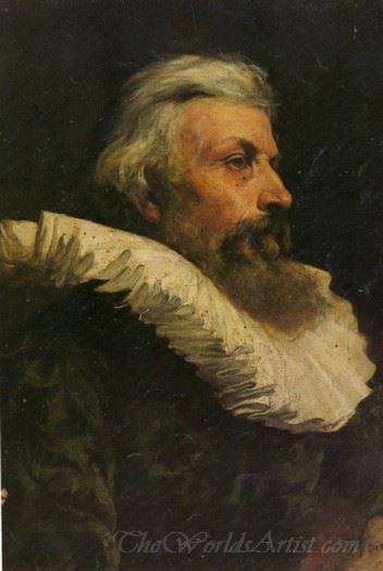 Retrato De Caballero Antiguo  (Portrait Of Old Knight)