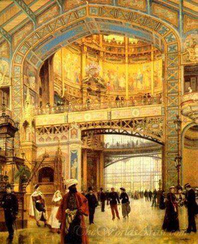 The Central Dome Of The Universal Exhibition