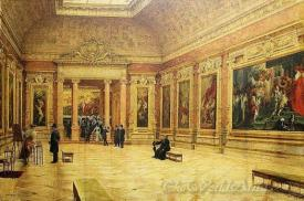 Rubens Room At Louvre Museum