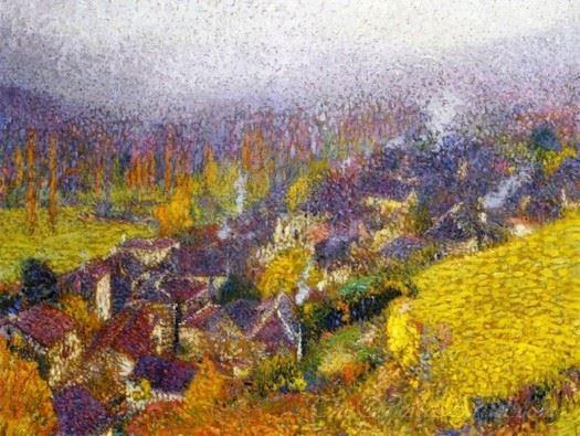 Autumn Over Labastide Du Vert