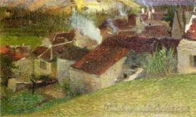 The Center Of Labastide Du Vert