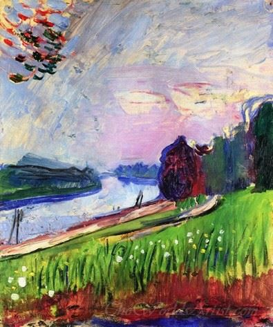 Copse Of The Banks Of The Garonne
