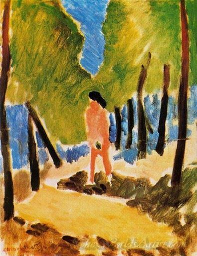 Desnudo En Un Paisaje Soleado  (Nude In A Landscape Sunny)