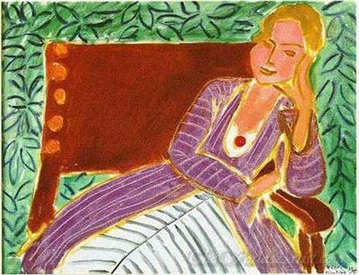 Jeune Fille Assis Robe Persane  (Girl Sitting Persian Robe)